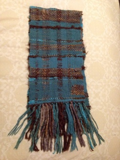 brown_turquoise scarf